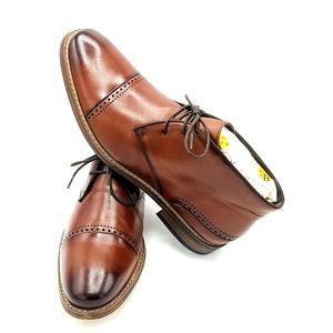 Stacy Adams Chukka boots Ashby cognac color 11M